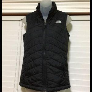 867dbb13da58 North Face Womens Mossbud Reversible Vest Size XS
